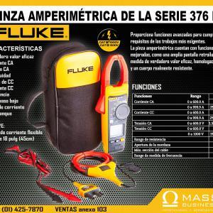 PINZA AMPERIMETRICA 376FC