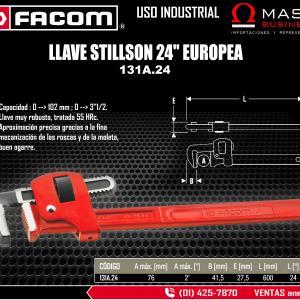 LLAVE STILLSON 24 EUROPEA