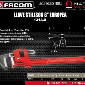 LLAVE STILLSON 8 EUROPEA