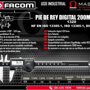 PIE DE REY DIGITAL 200MM