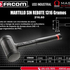 MARTILLO S/REBOTE 1316 gr