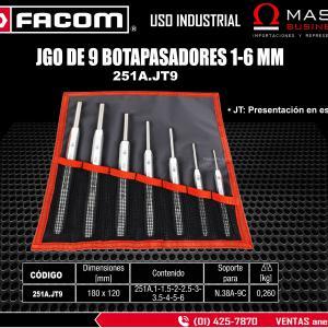 JGO DE 9 BOTAPASADORES 1-6 MM