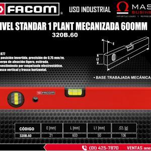 NIVEL STANDAR 1 PLANT MECANIZADA 600MM