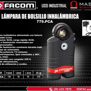 LAMPARA DE BOLSILLO INHALAMBRICA