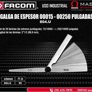 GALGA DE ESPESOR 00015 - 00250 PULGADAS