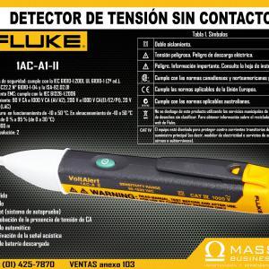 DETECTOR DE TENSION SIN CONTACTO