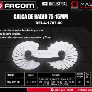GALGA DE RADIO 75-15MM