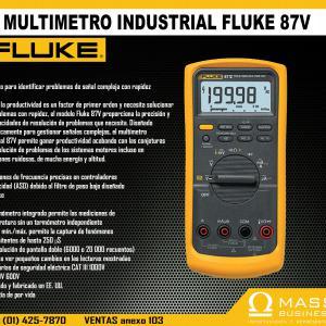 MULTIMETRO INDUSTRIAL FLUKE 87V