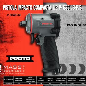 PISTOLA IMPACTO COMPACTA 1/2 P- 635 LB-PIE