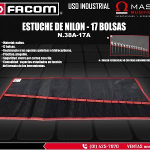 ESTUCHE DE NILON - 17 BOLSAS